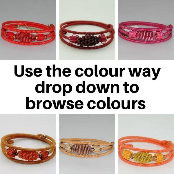 US2 Bracelets in Tonal colours