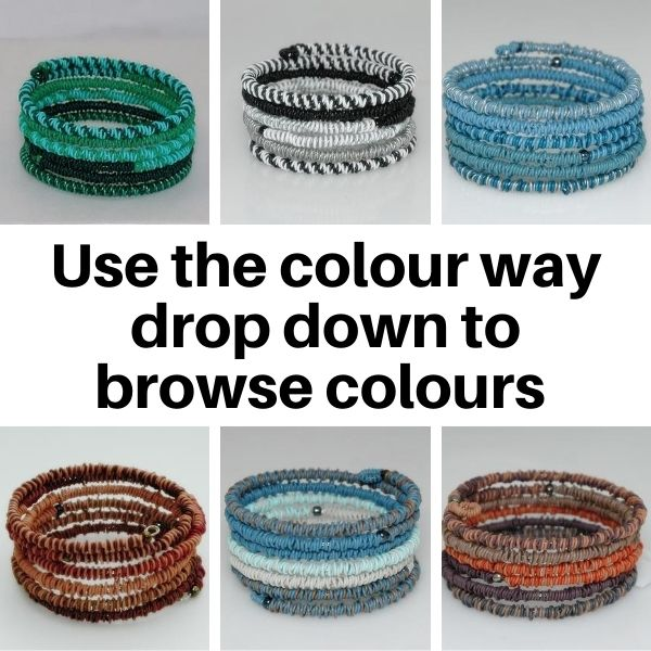 US24MC Bracelets in Multi colours