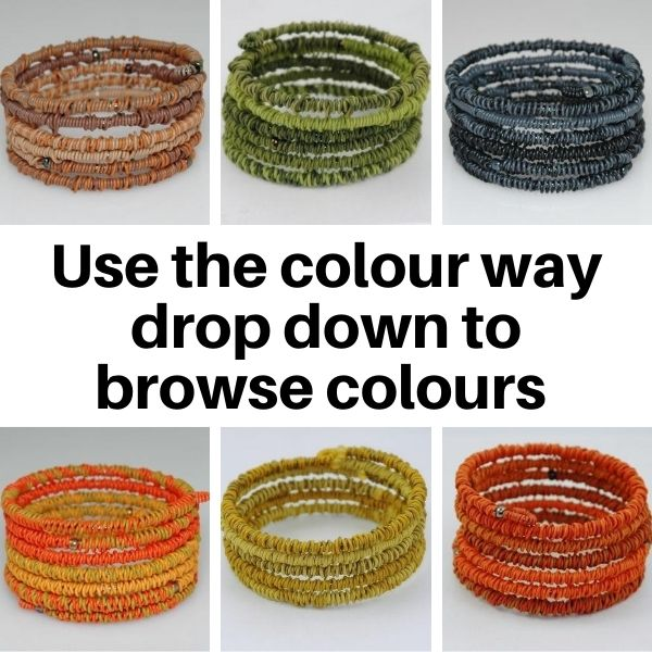 US24TC Bracelet in Tonal Colour ways.