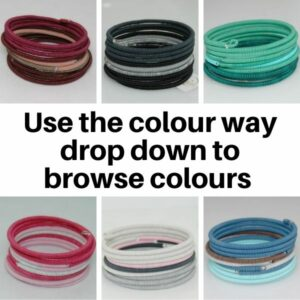 US28MC Bracelets in Multi Colour ways.