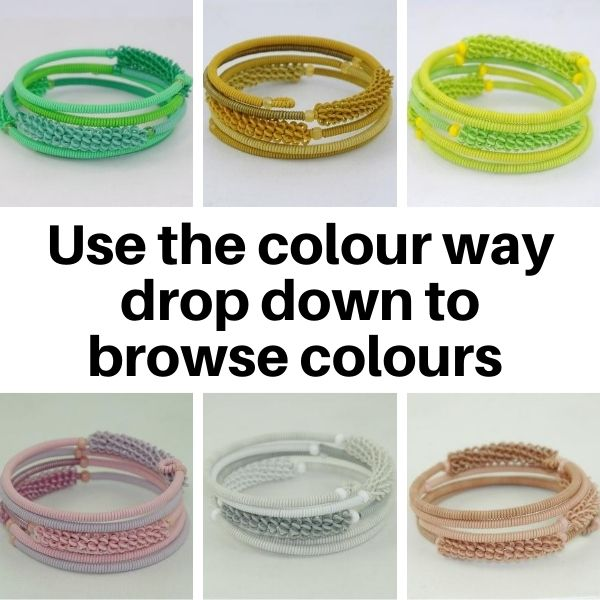 US45TC Bracelets in Tonal Colour ways.
