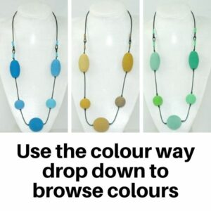 US809TC Necklaces made in Tonal colours.