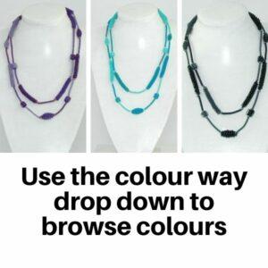US813TC Necklaces in Tonal Colour ways.