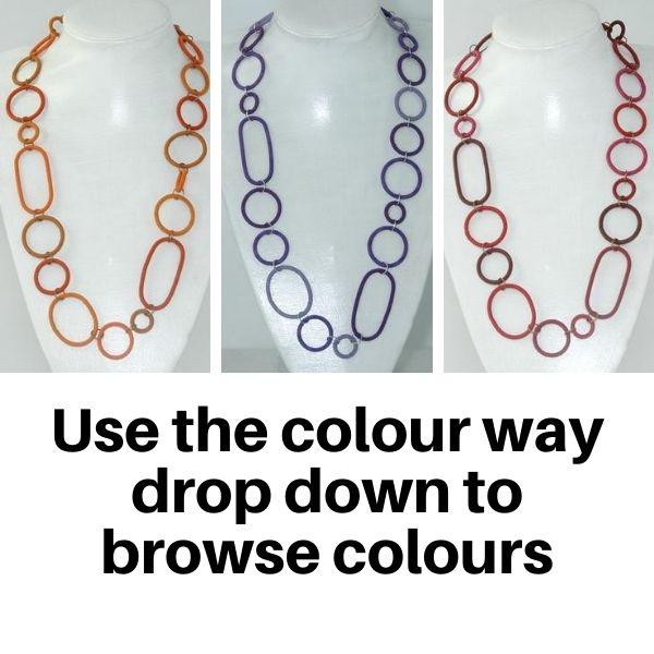 US835TC Necklaces in Tonal colours.