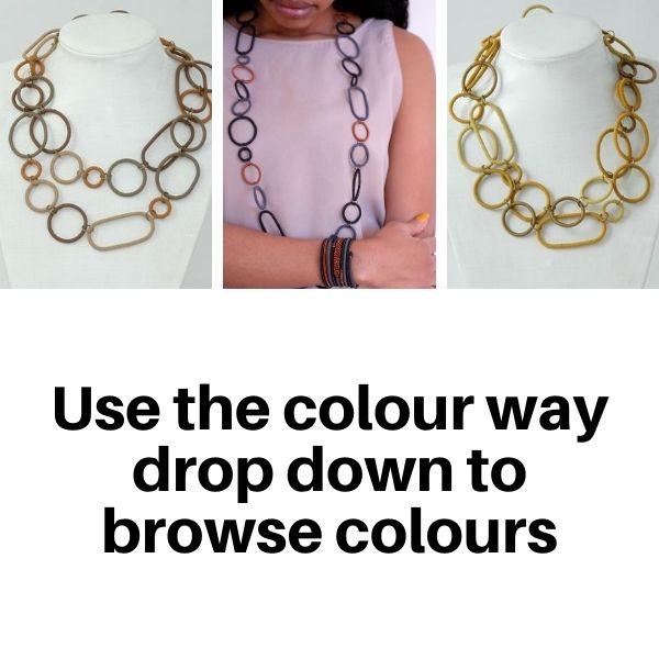 US836TC Necklaces in Tonal Colours.